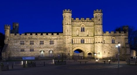 Battle Abbey at Night, Battle East Sussex